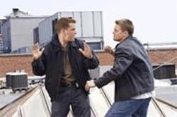 ANDREW  COOPER - Mole Fight: Matt Damon and Leonardo DiCaprio duke it out.