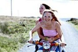 Moped Through the Moors: The love story - of two British girls trying to escape a quiet - country life.