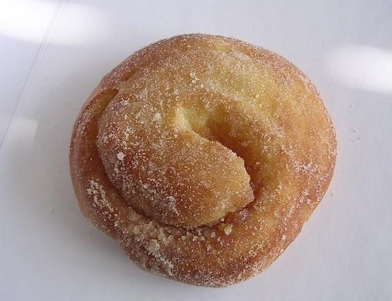 Morning bun ($3.50) from Pinkie's Bakery in SOMA. - JOHN BIRDSALL