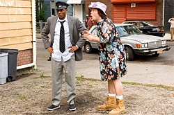 Mos Def and Jack Black re-create Driving Miss Daisy.