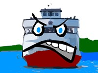 Mr. Ferry Boat doesn't like to get angry. - MATT SMITH