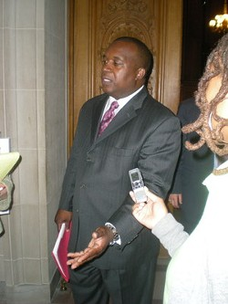 Muni CEO Nat Ford meets the press - JOE ESKENAZI