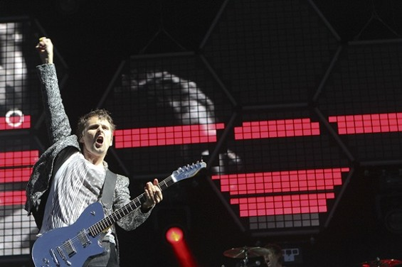 Muse at Outside Lands Day 2 - CHRISTOPHER VICTORIO