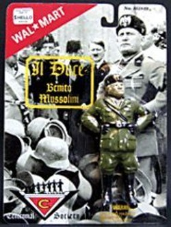 PACKARD  JENNINGS - Mussolini looks downright huggable in doll - form, no?