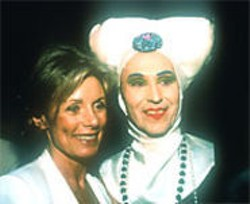 My Heart Wants to Sing: Charmian Carr (Liesl) and a Sister of Perpetual Indulgence.