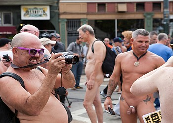 Naked Men Let it All Hang Out at Castro Nude-In (NSFW Photos)