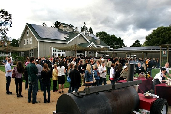 Napa's Long Meadow Ranch is one of the venues of Outside Lands' new food pairing series. - LONG MEADOW RANCH