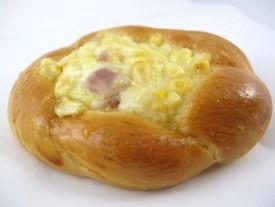 Napoleon's corn and ham bun. - JONATHAN KAUFFMAN