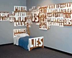 Nathan Cordero's installation at Sacramento's Kondos - Gallery.