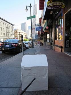 NATHANIEL PRICE - Nathaniel Price leaves his mark on San Francisco.