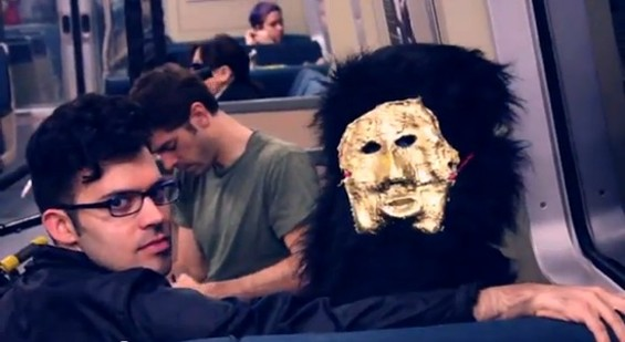 Naytronix and friend on BART