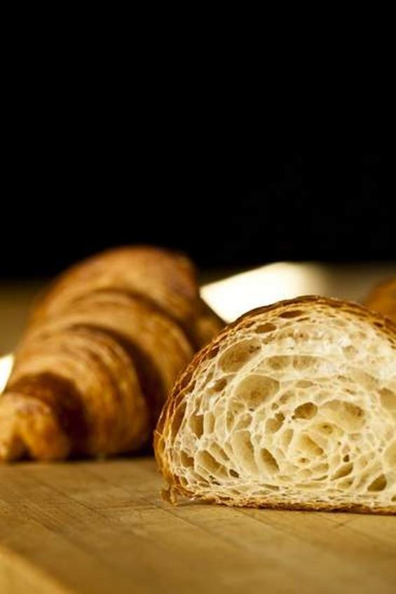 Neighbor's croissant. - ERIC WOLFINGER