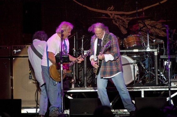 Neil Young and Crazy Horse at Outside Lands 2012 - CHRISTOPHER VICTORIO