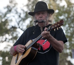 AP PHOTO/DAVE WEAVER - Neil Young