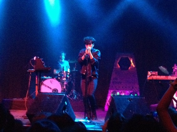 Neon Indian at the Fillmore last night.