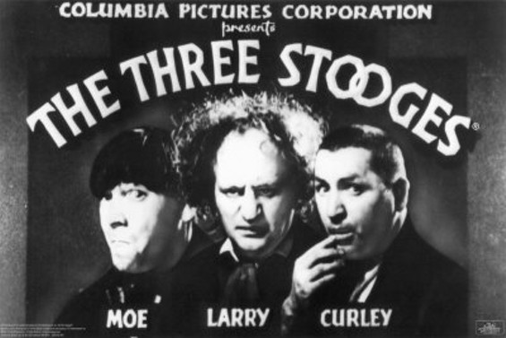 Never thought you'd read the words 'Three Stooges' and 'Oscar' in the same sentence? You just did.