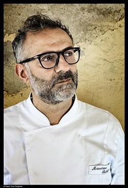 Chef Massimo Bottura of Italy's Osteria Francescana.