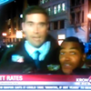 """KRON4 Report on <i>Charlie Hebdo</i> Interrupted By """"Fuck Her in the Pussy"""" Guy"""