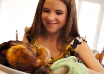 "New Video from Producers of Rebecca Black's ""Friday"" Features the Saddest Thanksgiving Ever"