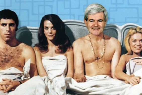 Newt's personal fantasy isn't much different than ours in San Francisco