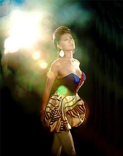 STAR FOREMAN - Nhu Loan, one of the show's many divas.