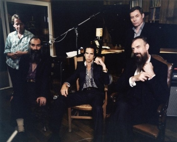Nick Cave and the Bad Seeds, photographed by Cat Stevens.