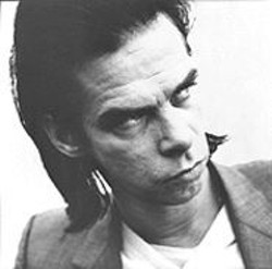 "THOMAS  RABSCH - Nick Cave graces the turntable at ""Play Pretty for Baby."""