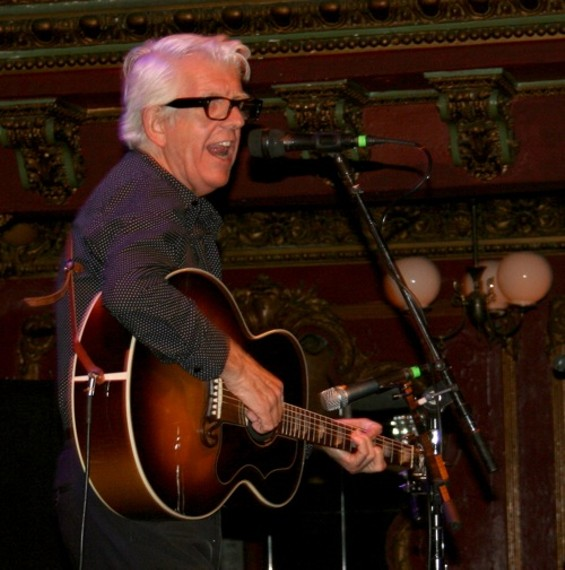 Nick Lowe at Great American Music Hall last night