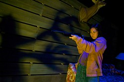 PAK HAN - Nicole Javier in Edith Can Shoot Things and Hit Them