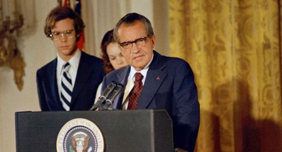 """Nixon's resignation: """"Nobody will ever write a book, probably, about my mother."""""""