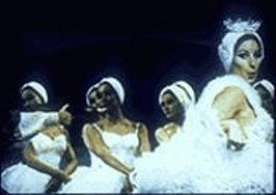 No one does Swan Lake like Babs in  the 1968 musical Funny - Girl.