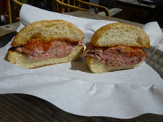 No second-guessing yourself ― get the Sycamore's roast beef sandwich. - ALEX HOCHMAN