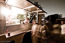 No, this isn't Chez Spencer's truck, but something like it will be slinging escargot tonight - JASON VIA FLICKR