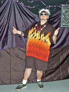 No, this isn't the real Guy Fieri, just a  wannabe like you. - KIM IN CAJUN COUNTRY/FLICKR
