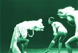 J. C. CARBONNE - No Tutus Here: Ballet Preljocaj stages a battle between instinct and intellect.