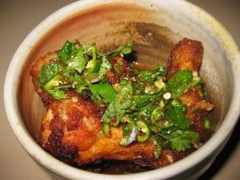 Nombe's chicken wings, a previous donation vehicle. - ANGELA W./YELP
