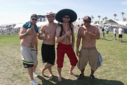CHRISTOPHER VICTORIO - Not terribly sad to miss Coachella.