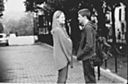 November, Meet March: Laura Linney and - Topher Grace.