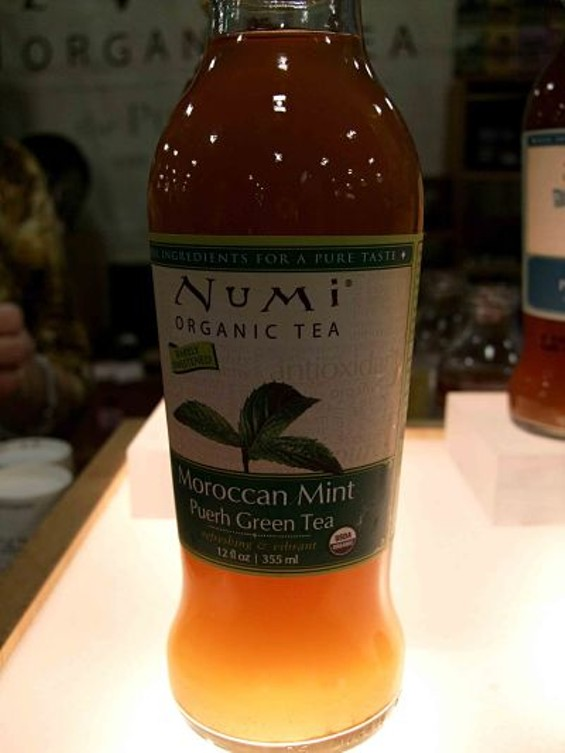 Numi's Morrocan Mint tea: Light and aromatic. - T. PALMER