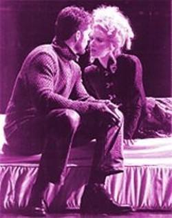 KEVIN  BERNE - Oafs vs. Sissies: Dan Snook with Vivienne Benesch in Edward II.