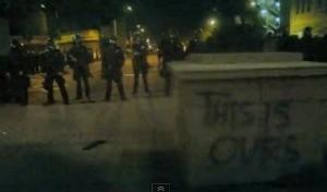 Oakland cops vs. Occupy protesters