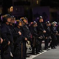 Oakland Protest After Ferguson Verdict