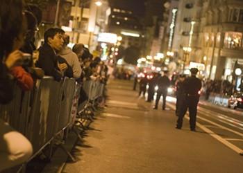 Obama Protests In Union Square