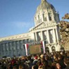 Obama (Yay!) Bush (Boo!) Cheney (Vomit!): Taking in the Inauguration at Civic Center Plaza