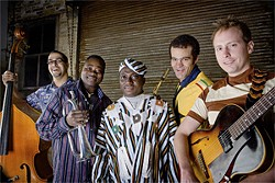 JIM NEWBERRY - Occidental Brothers Dance Band Int'l: Expanding cultures and band names.
