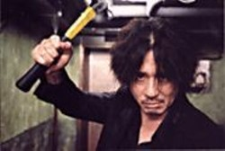 PARK  CHAN-WOOK - Oh Dae-su (Choi Min-sik) attempts to - unravel a murky - past in the anticipated revenge flick - Oldboy.