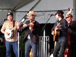 Old Crow Medicine Show at the Hellman concert.