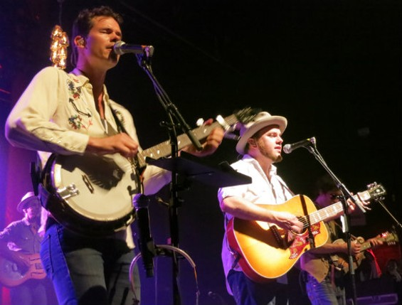 Old Crow Medicine Show at the Warfield last night.
