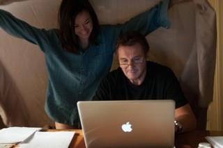 Olivia Wilde as Anna and Liam Neeson as Michael - PHOTO BY MARIA MARIN, COURTESY OF SONY PICTURES CLASSICS