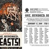 """One. Hundred. Beasts!"" Group Show at Giant Robot"